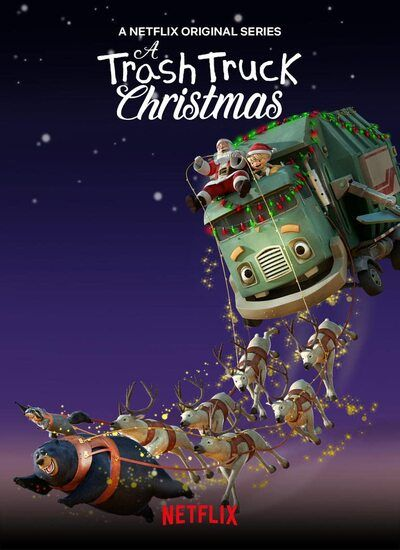 دانلود فیلم A Trash Truck Christmas 2020