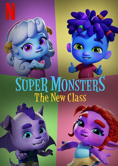 دانلود فیلم Super Monsters: The New Class 2020